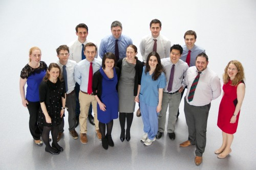 The SVUH Radiology Registrars, May 2015.