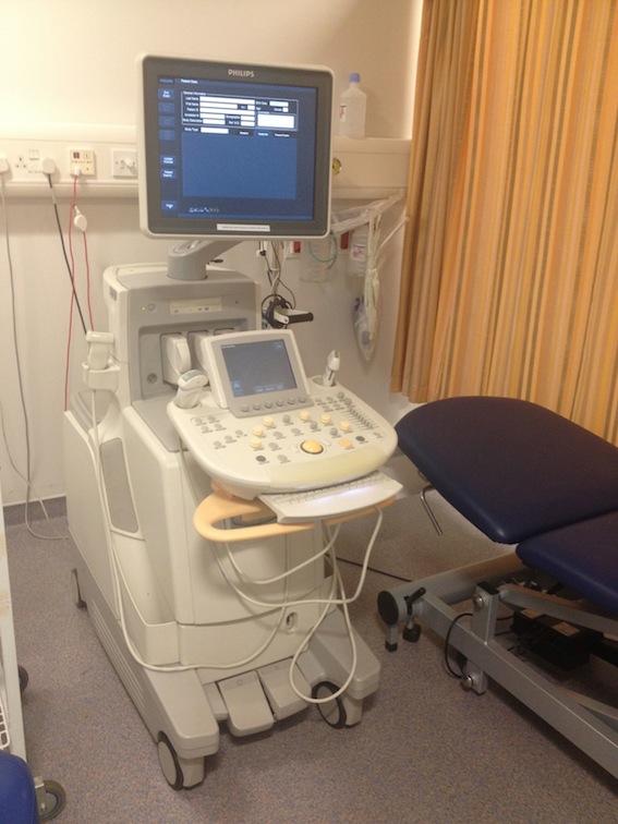 Hospital Procedure Room: Radiology At St. Vincent's University Hospital